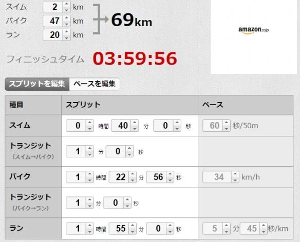 2017久米島トライアスロン予想タイム